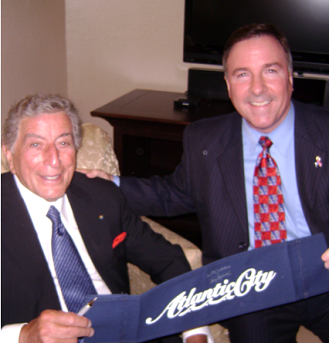 Tony Bennett and Harry Hurley